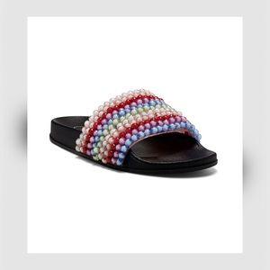 Saycie Slip on Pool Side Sandals